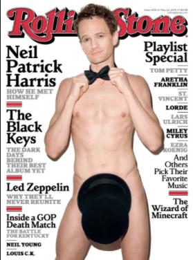 Naked male stripper using dildo