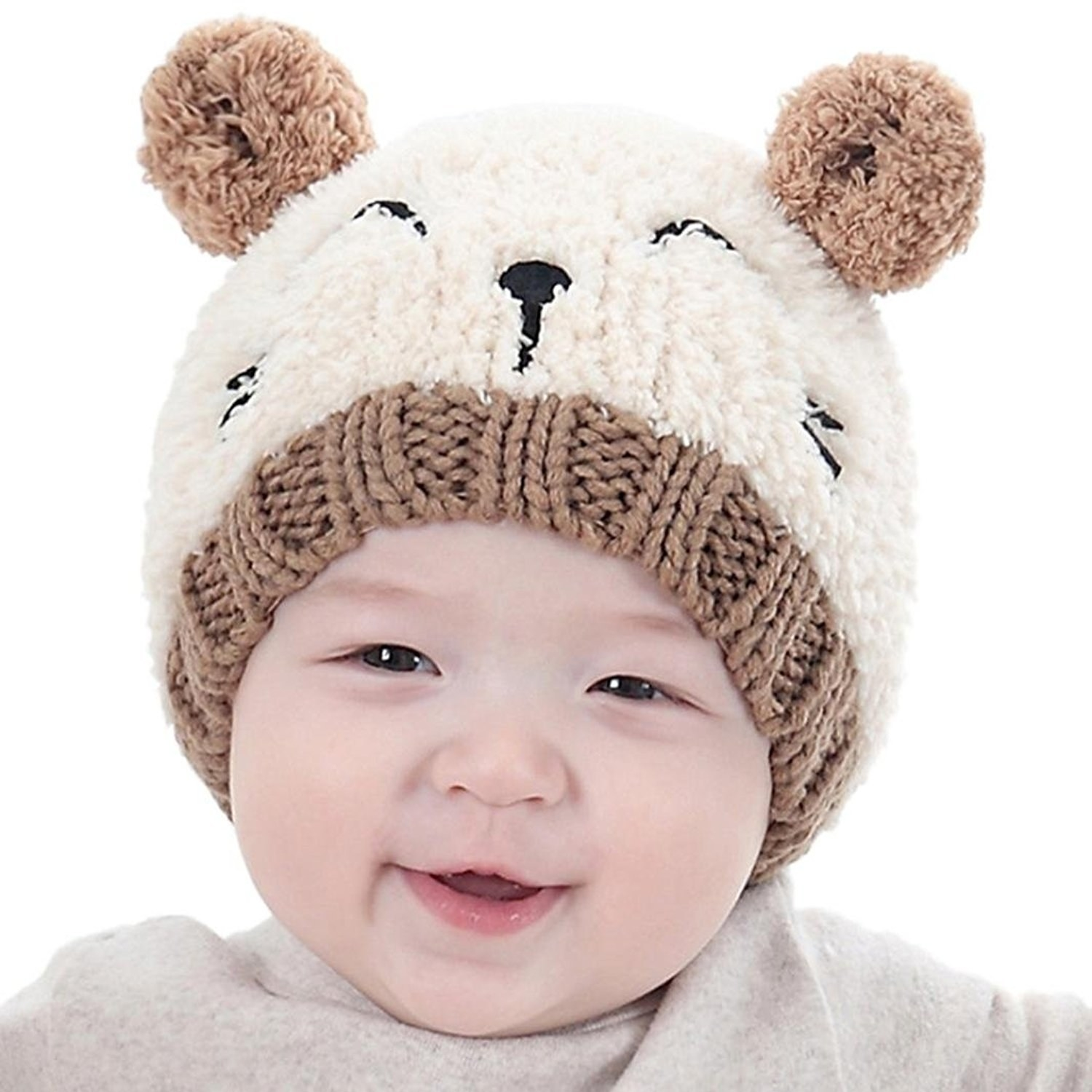 "Promising review: ""Fits my almost 1-year-old perfectly. It's cute, super soft, thick, and will be warm on her."" —Holly HobbsGet it from Amazon for $4.75 (available in four colors)."