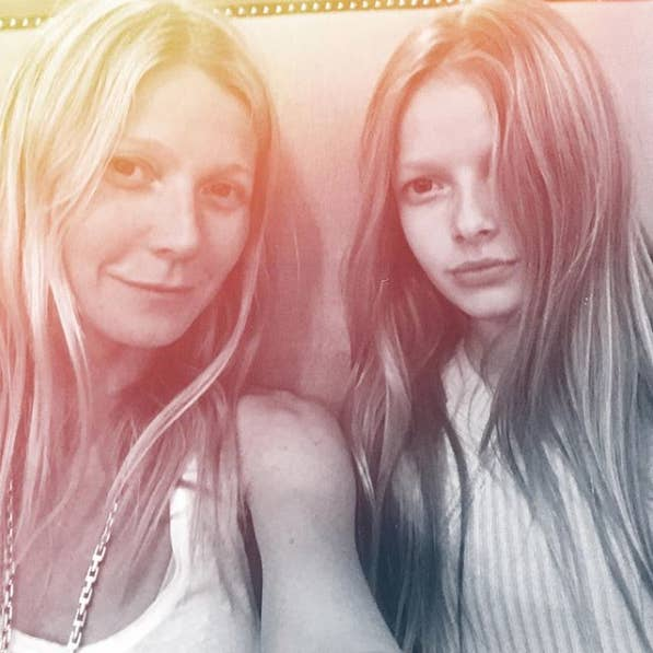Le Is The Eldest Of Paltrow And Martin X27 S Two Children They
