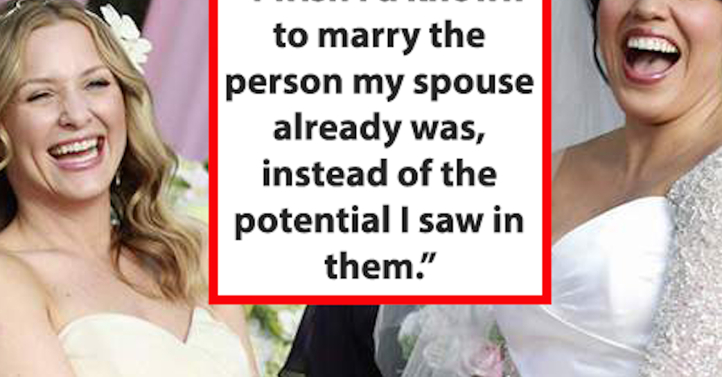 27 Things Married People Wish Someone Told Them Before They Got Married