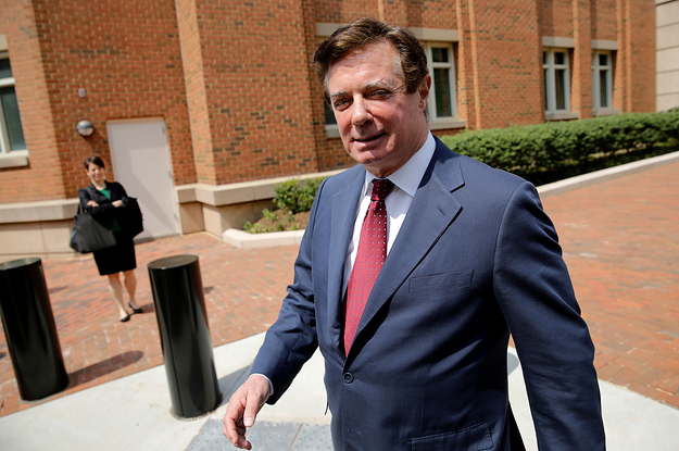 photo image A Judge Just Denied Paul Manafort's Motion To Dismiss The Indictment Against Him In DC