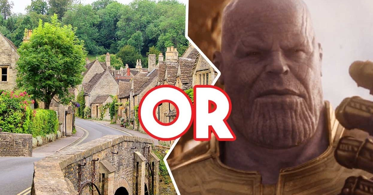 Can You Tell If These Are British Villages Or Marvel Characters?
