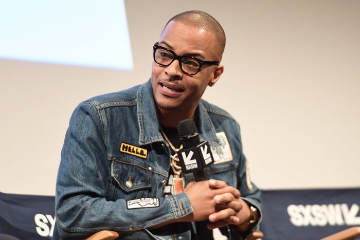 T.I. attends the Rapture premiere at SXSW on March 17.