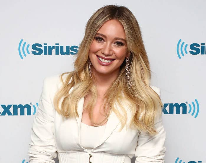 Hilary Duff has had it up to HERE with her neighbor's behavior, so she did  what any millennial would do: put him on blast via social media.