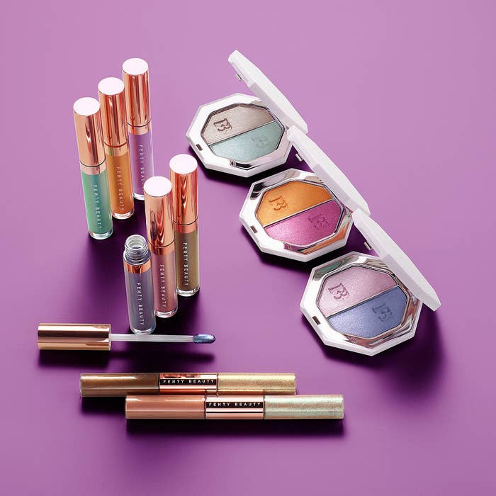 Now all you need is a new swimsuit to fully s l a y.Get everything starting May 21st from Sephora: the new Killawatt Foil Freestyle Highlighter Duos for $36 each (available in three shades), Summer Daze & Summer Nights Iridescent Lip Luminizer Trios for $32 (available in two sets), and Island Bling 2-in-1 Liquid Eye Shimmers for $26 each (available in two sets).