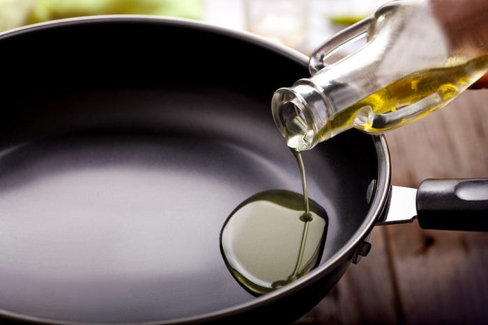 Extra-virgin olive oil is a higher quality than your regular olive oil, so it's always going to be more expensive. It also has a lower smoke point than olive oil, meaning it will burn faster if you're cooking at high temperatures. Since regular olive oil is cheaper and has a higher smoke point, it makes for a better multipurpose cooking oil.
