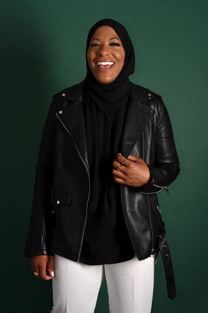 "Muhammad is widely known as the first American Muslim woman to compete for Team USA in the hijab. She has a bronze medal in team sabre from the 2016 Olympics. An excerpt: It's interesting when you grow up different from everyone else, you know? I think that you have an easier time just being yourself and existing and not having to conform. I can't really try to fit in because I'm always gonna be this black chick with a hijab, right? So it's like, whatever, I'm gonna do my own thing. So I didn't really struggle with trying to fit in with other people because it's like trying to fit a square in a circle. To them, I'm always gonna be different. So what was great about fencing for me is that when I put on my fencing mask, I look like everyone else. And it was this ""ah-hah"" moment for me as a kid, because I didn't have to deal with the stares anymore. Because when my fencing mask went on, you didn't see my hijab. You didn't see that I was black. You didn't see that I was a girl. All you knew was: this person can fence."