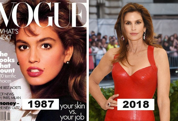 Cindy Crawford proves that we only get better with time.