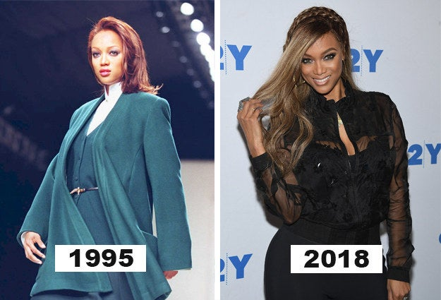 Even off the runway, Tyra is still on TOP.