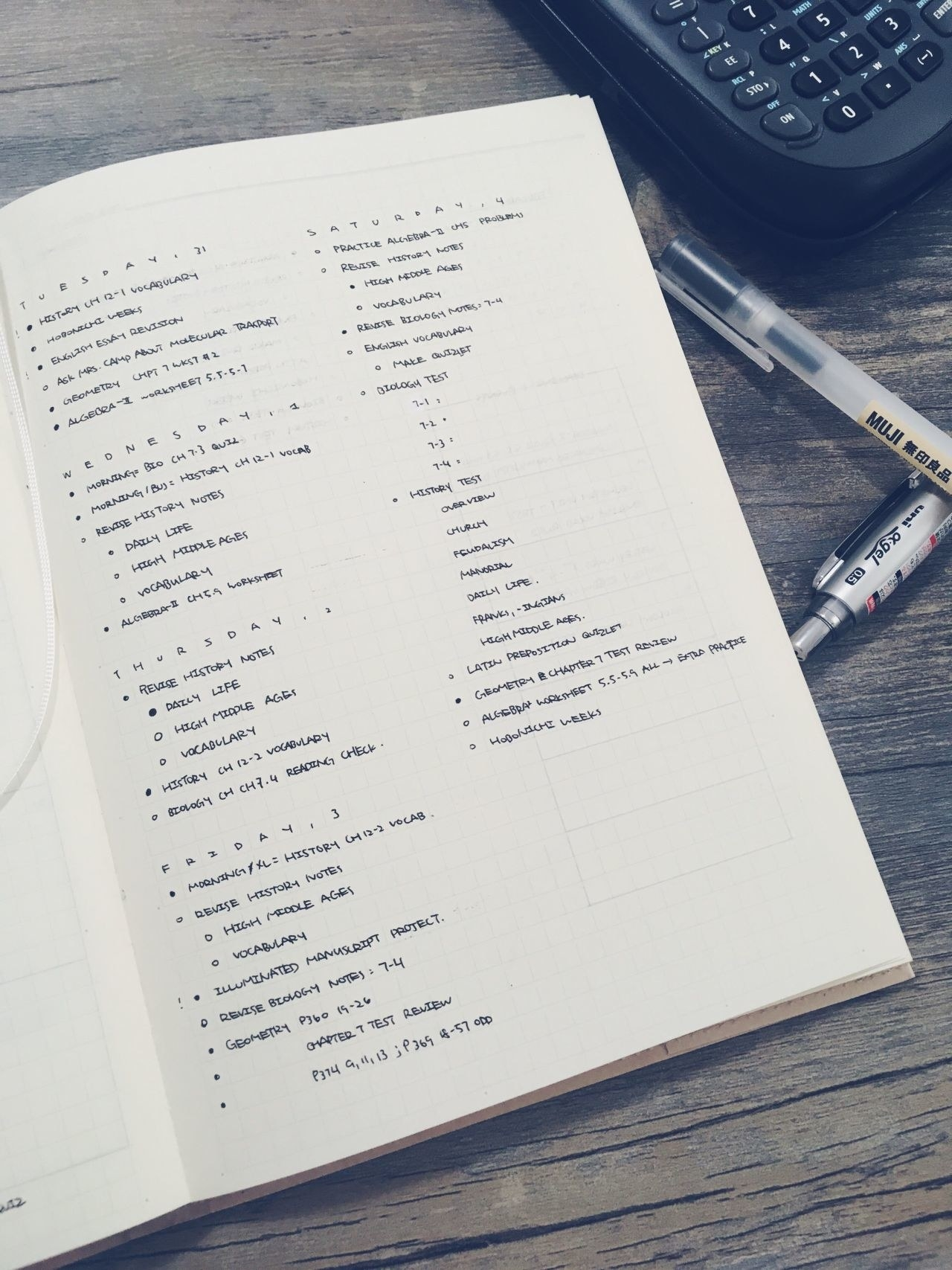 21 Minimalist Bullet Journal Spreads That Are So Pretty, You Might Sigh Out Loud