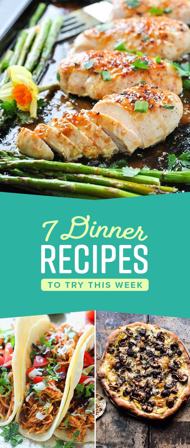 7 Easy Dinner Ideas For Every Day Of The Week