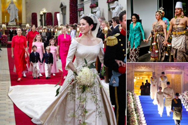 Top World News Wedding Traditions Around The World: Here's What Royal Weddings Look Like In 20 Countries