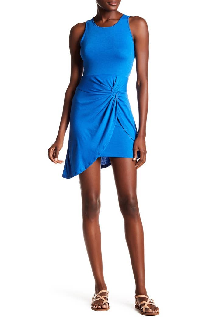 0b1ae509c17 An asymmetrical sleeveless dress designed with a perfect little tie-front  detail. Get it from Nordstrom Rack ...