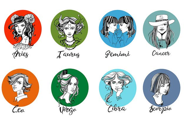 This Illustrator Reimagined The Zodiac As Goddesses And We