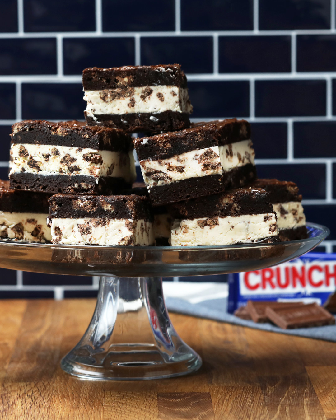 Crunch® Bar Ice Cream Sandwiches