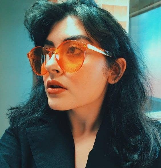 b06979b1db7 Rimless monochromatic sunglasses for showing off your bold side without any  risky spending. What you  do  spend will be paid back in limitless  Instagrams.