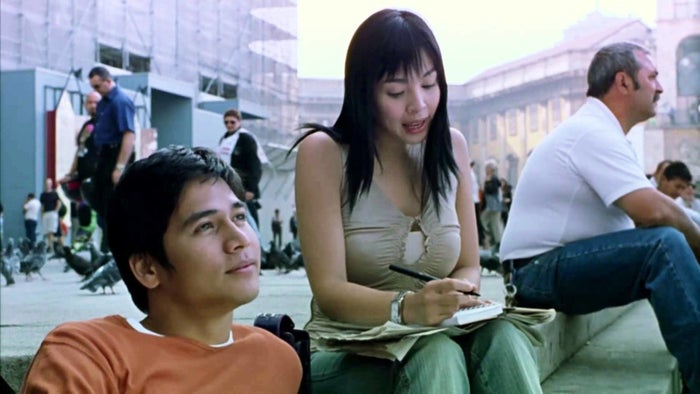 """Your film reference: Milan (2004)What you need to know: """"Sei bellissima"""" means """"You are beautiful."""""""