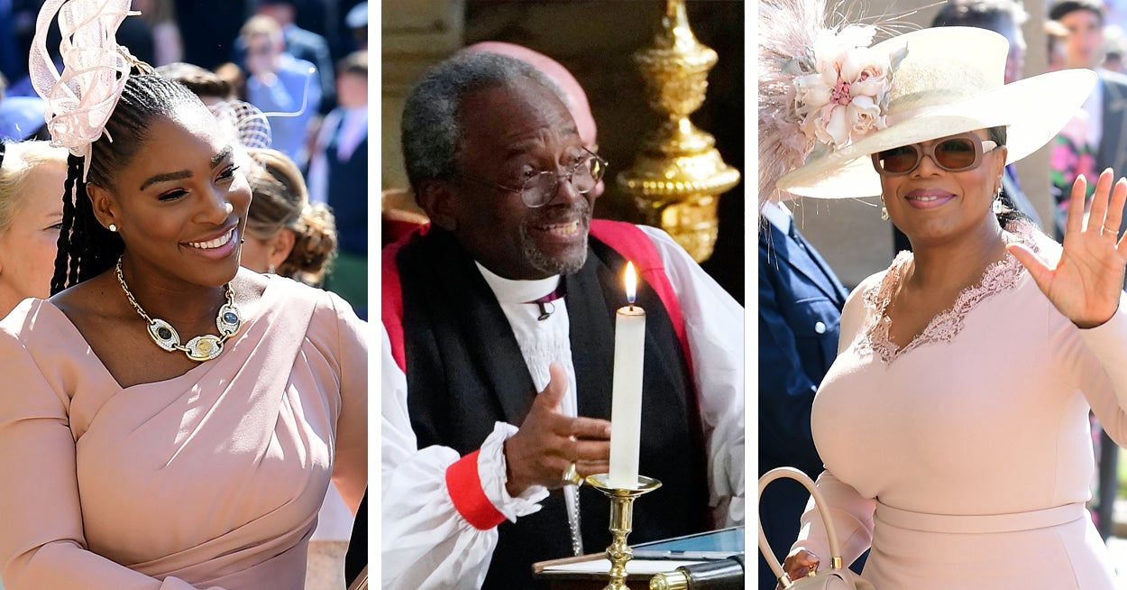 Black Preacher At Royal Wedding.The Royal Wedding Was Served With An Extra Side Of Black Excellence
