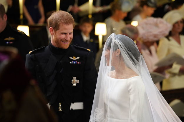 bcc74519b3ce8 Here s Everything That Happened At Prince Harry And Meghan Markle s Royal  Wedding