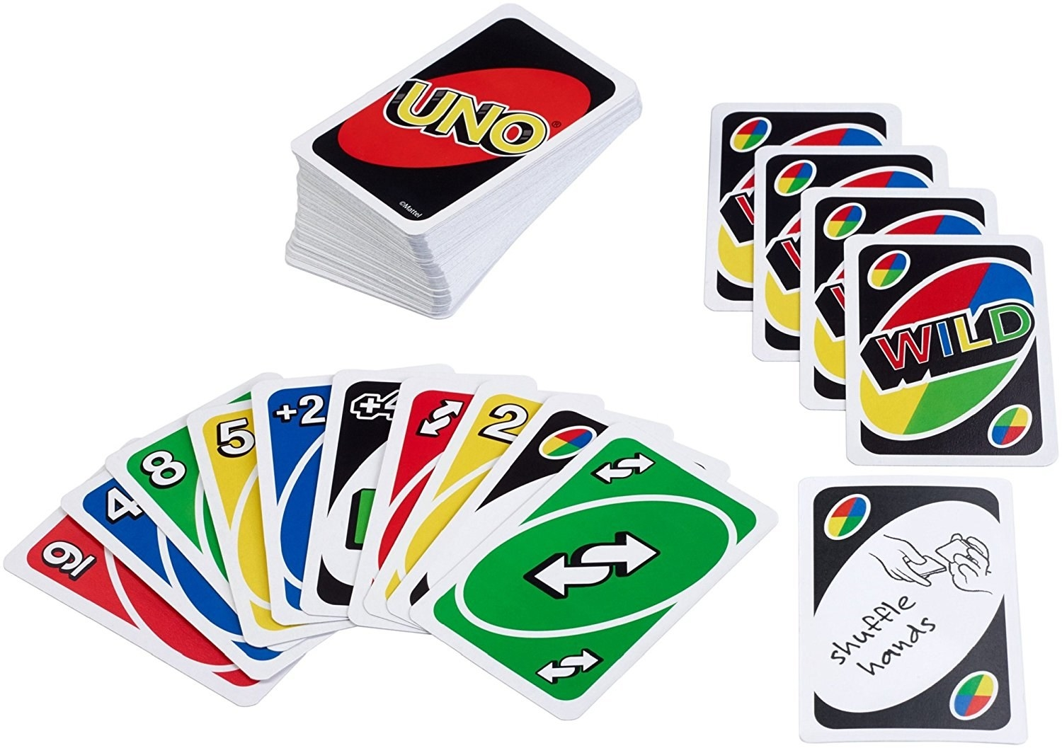"Promising review: ""Uno is a super game for teaching kids their numbers. It's perfect for families because people of all ages love it. Even little ones can sit on mom/dad's laps and help play. Teens get into the game, too. This is a fun game to play over the dinner table or take camping. I actually bought this as an extra to have in our 72 hour emergency kit, to keep kids entertained if we need to evacuate our home and end up in a shelter for a few days during a disaster. It's small, compact and portable. Even though each round is quick, my kids can play it for quite a while before they get bored."" —DMCPrice: $4.99"