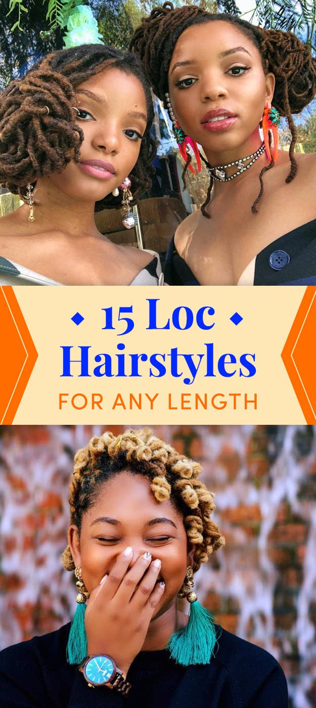 15 Loc Hairstyles When You Don T Know What To Do With Your Hair