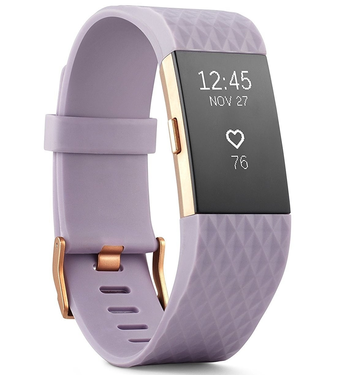 "Promising review: ""My husband and I each got one of these and they are our first fitness trackers. They are really motivating us to lose weight and stay active. The app is very easy to use, even for people who are technology challenged as we are. We really enjoy the challenges because they make our weight loss/exercise routine much more fun. We especially like the food log which makes us more aware of what we are actually eating all day. We couldn't be happier with our purchases."" —Janet V.Price: $119.95+ (available in six colors and four sizes)"
