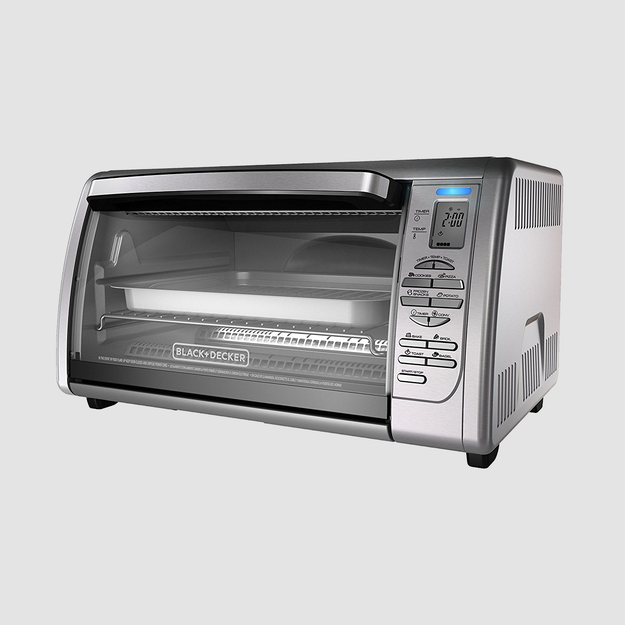 A countertop convection toaster oven, which will feel like a level-up even when you're throwing in leftovers that would have otherwise gone in the microwave.