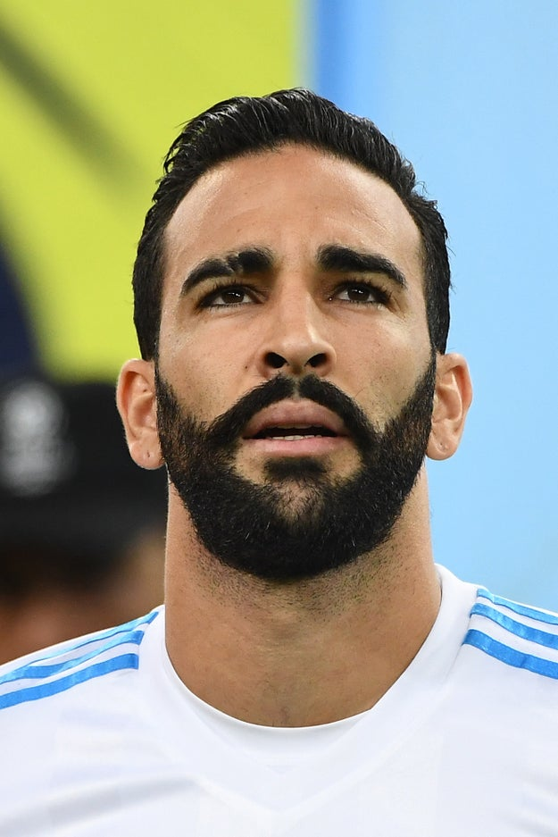 But Anderson has also been dating French soccer player Adil Rami, and the pair now live in Marseille, where he plays.
