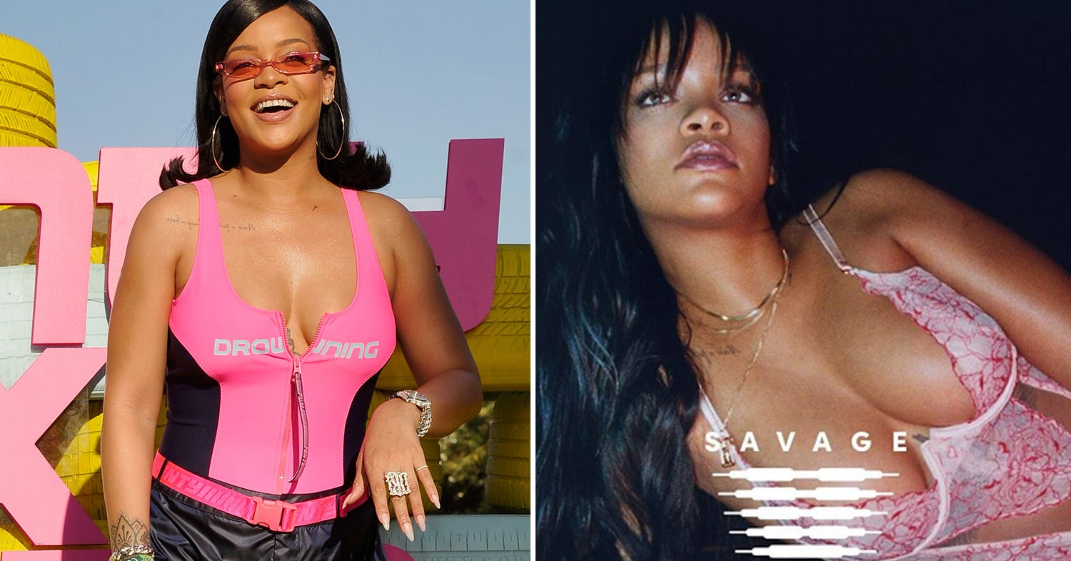 7db90824f8 Rihanna s Upcoming Lingerie Line Is Plus-Size Inclusive