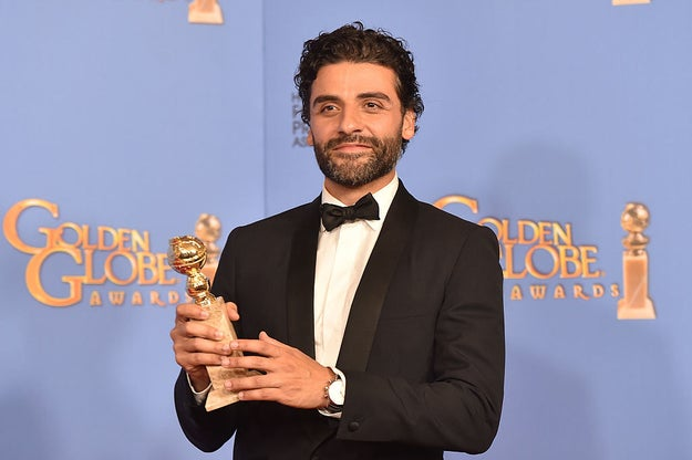 Oscar Issac used to work at a hospital, transporting dead bodies.