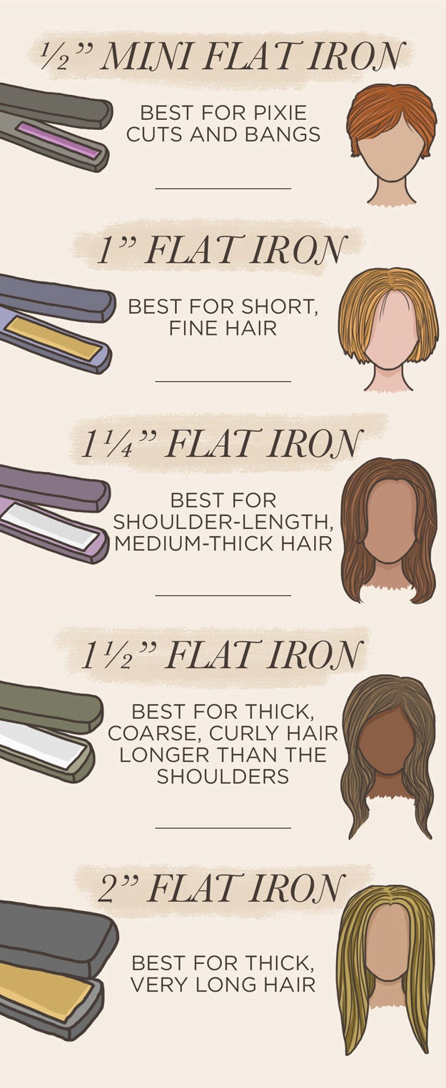 And here are a bunch of hair styling tips and hacks.