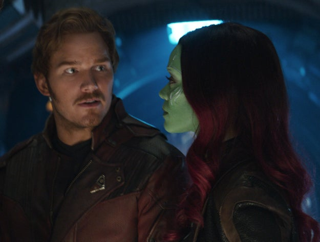 Guardians of the Galaxy director James Gunn and star Chris Pratt made a small but crucial change to the script.