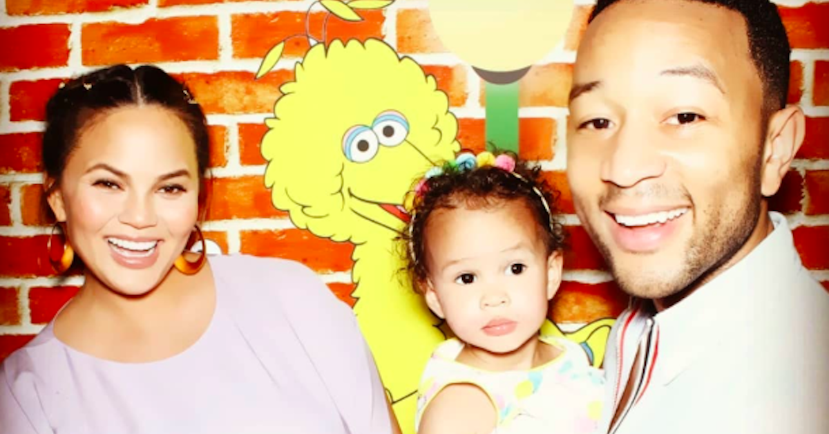 Chrissy Teigen And John Legend Just Shared A Photo Of Their Baby Miles