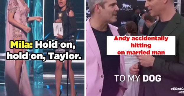 11 Suuuuuper Awkward Moments From The Billboard Music Awards