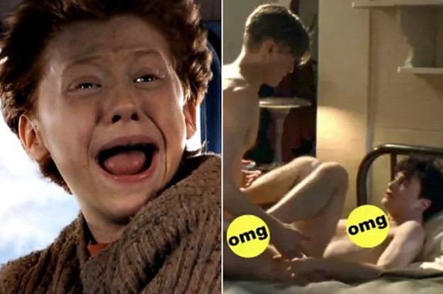 24 Hilarious Sex Things That Happen In Every Harry Potter Fic