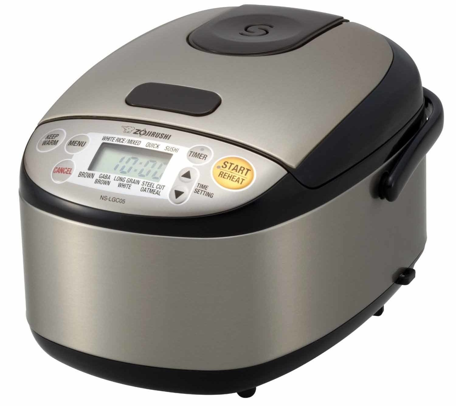 "This Zojirushi rice cooker has a three-cup capacity. It has settings for pretty much any type of rice and can also cook steel-cut oatmeal.""I always used to worry about under- or over-cooking my rice, but now I can plug my rice cooker in and let it work its magic."" —Alyssa O.Get it from Walmart for $149.95 or from Jet for $199.95."