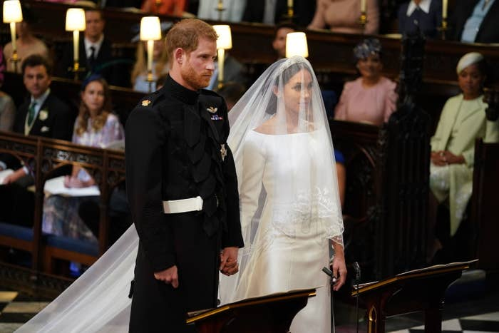 Oprah At Prince Harry Wedding.Oprah Almost Wore The Wrong Color To The Royal Wedding So She Got A