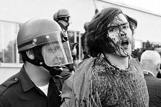 this is what us protests looked like in the 60s
