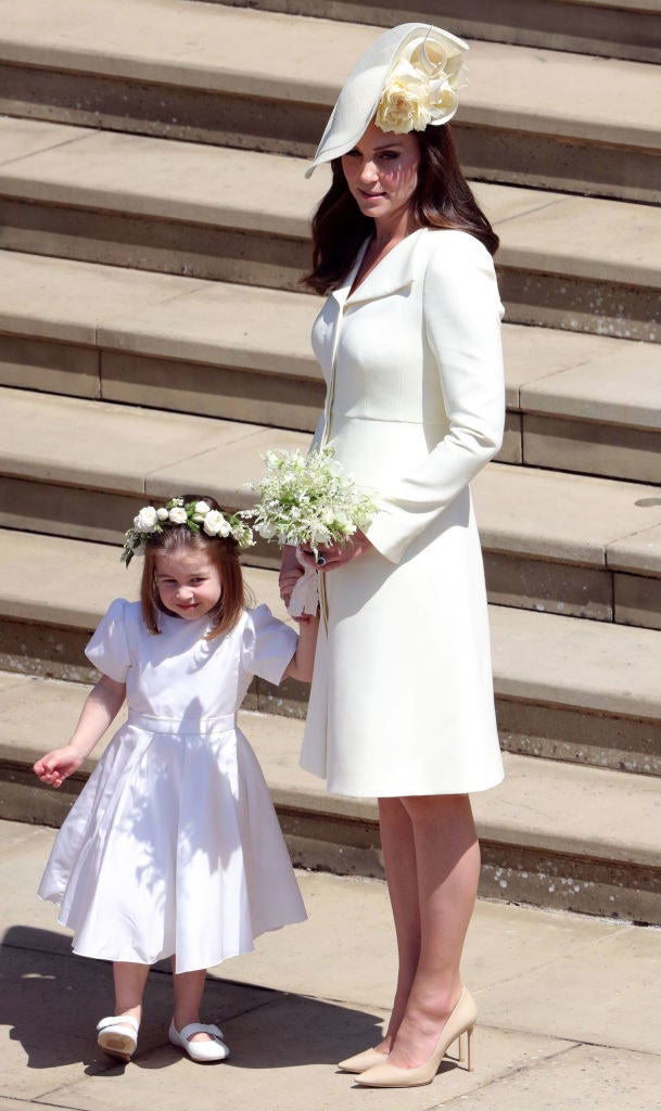 Kate's daughter, Princess Charlotte, looked pretty cute too!