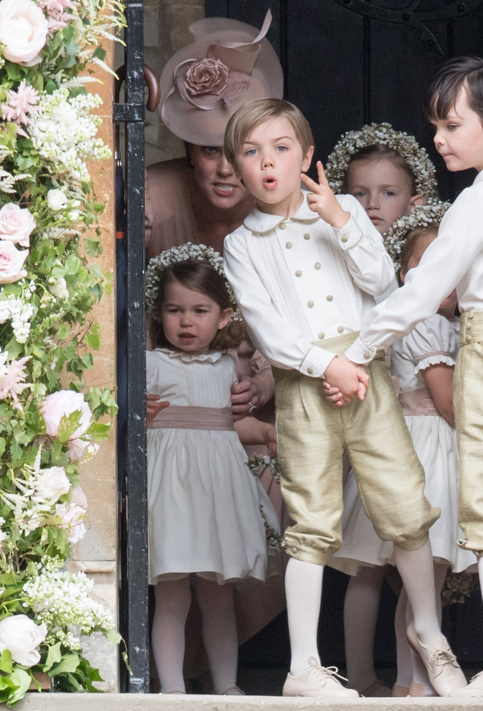 """This Pic Of Kate Middleton At Her Sister's Wedding Will Make Moms Say, """"I Know The Feeling"""""""