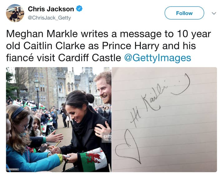 Meghan will not be able to sign autographs because it runs the risk of her signature getting forged.