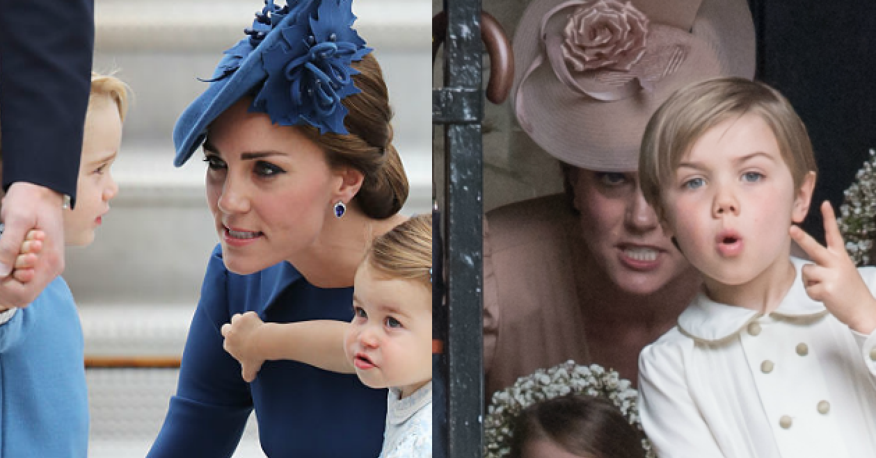 8 Time Kate Middleton Had To Use Her Batman Voice On The Royal Kids