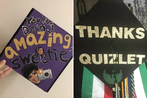 55 Graduation Caps That Toootally Fucking Nailed It