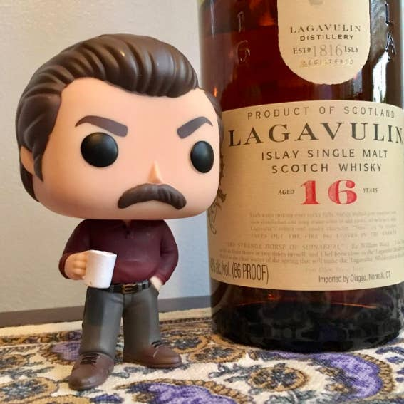 """Promising review: """"I bought this for my boyfriend who is a huge Ron Swanson fan. I can't wait to give it to him for his birthday. I know he will love it. It's so cute and looks just like him!"""" —G. BanksGet it from Amazon for $9.44 (originally $10.99)."""