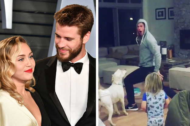 "This Video Of Chris Hemsworth Dancing To ""Wrecking Ball"" Has WRECKED ME"