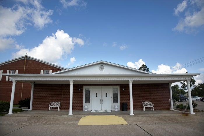 Hayes Funeral Home in Santa Fe, TX.
