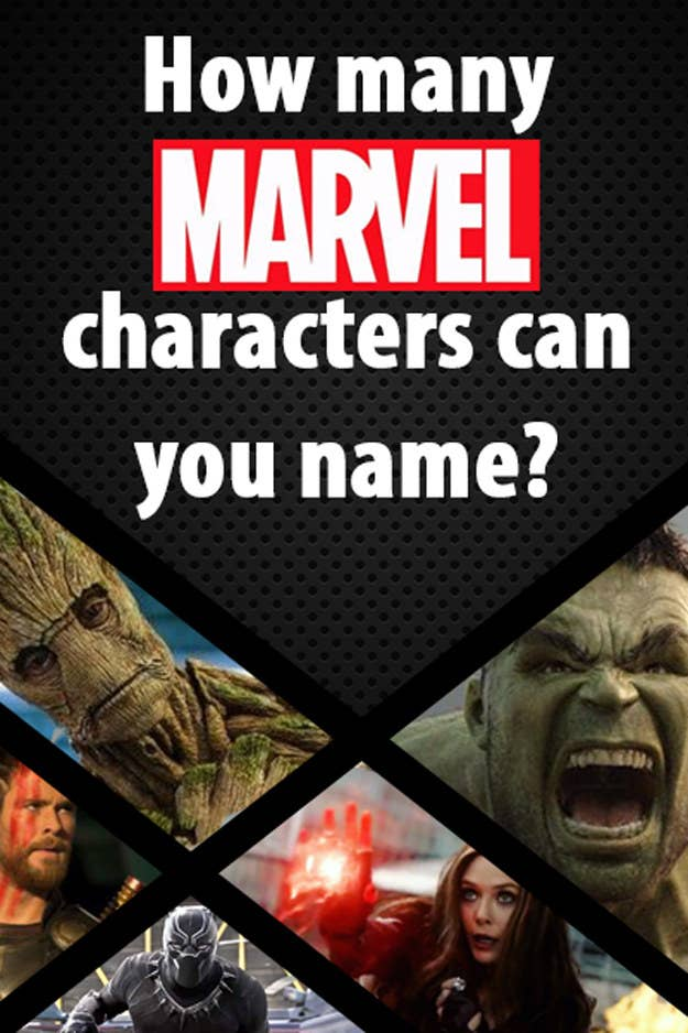 How Big Of A Marvel Superhero Nerd Are You?