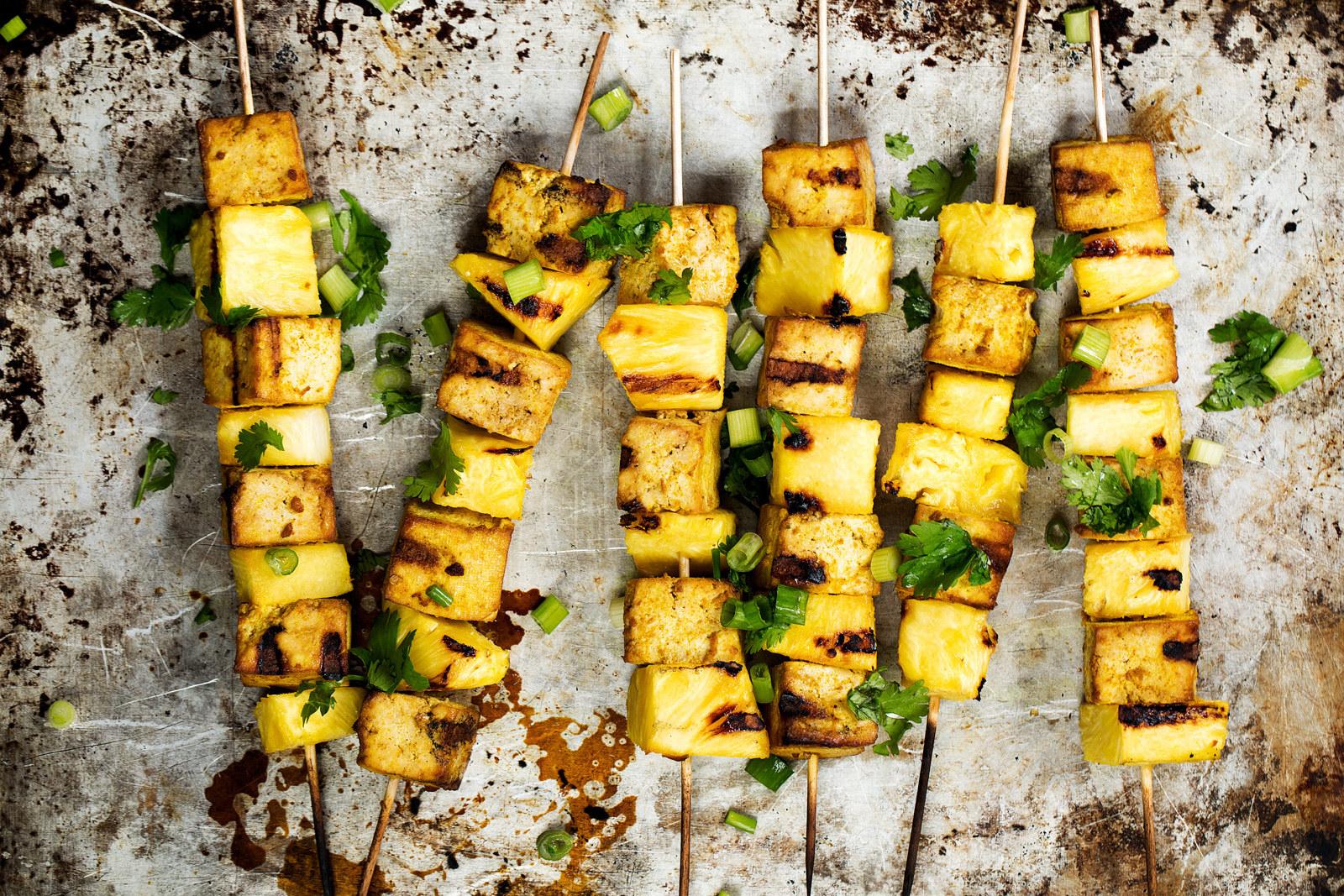 This recipe uses tamari rather than soy sauce, making it gluten free.