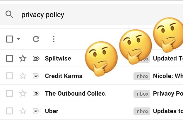 Here's Why You're Getting So Many Privacy Policy Emails