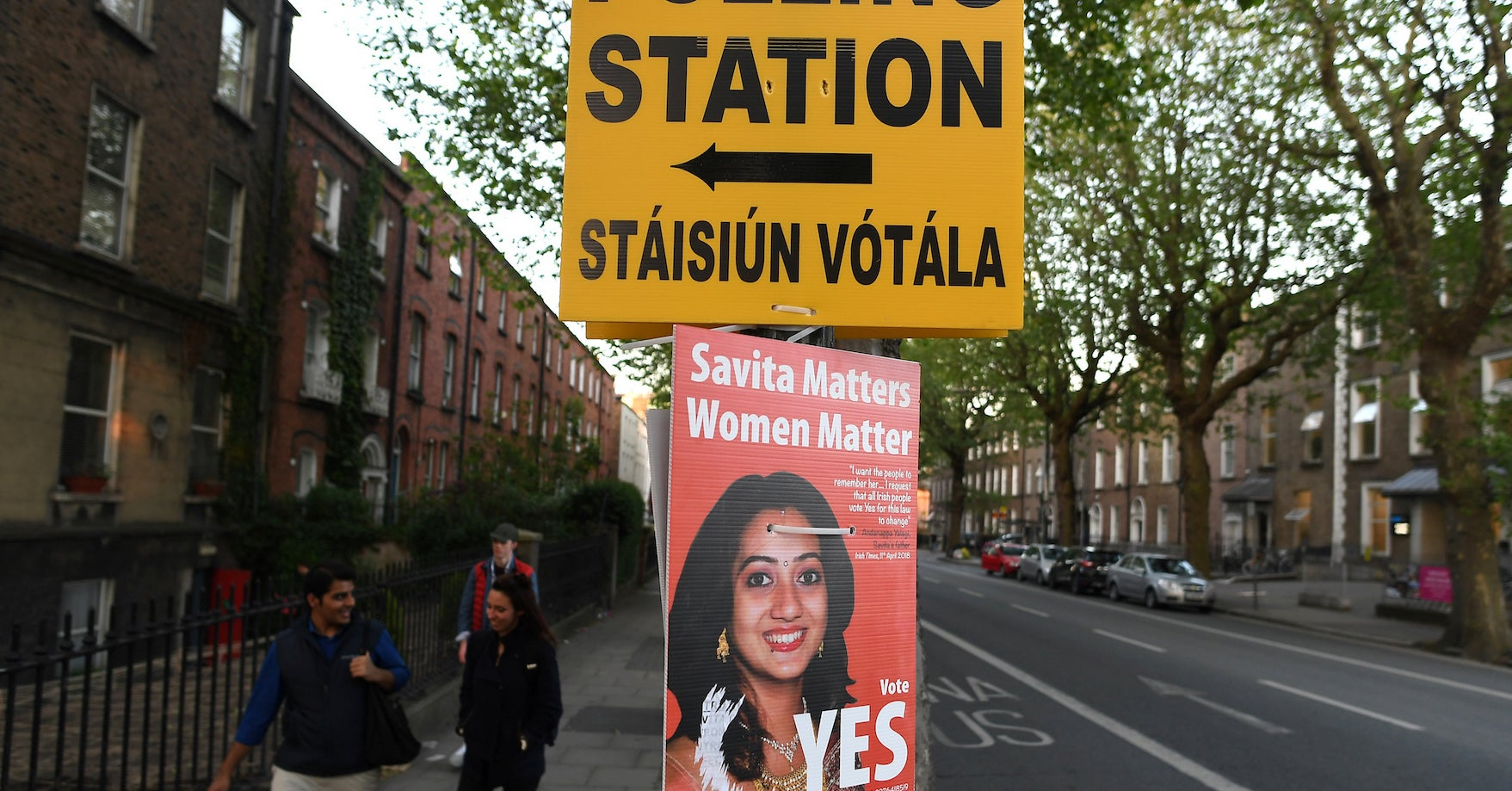 People Are Flooding Home To Ireland To Vote In The Abortion Referendum